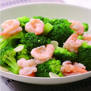 花椰菜炒蝦仁