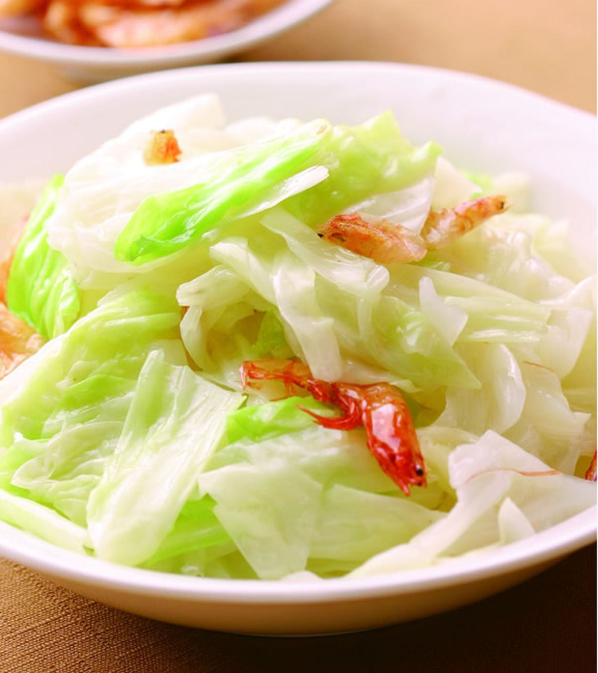 食譜:高麗菜炒櫻花蝦