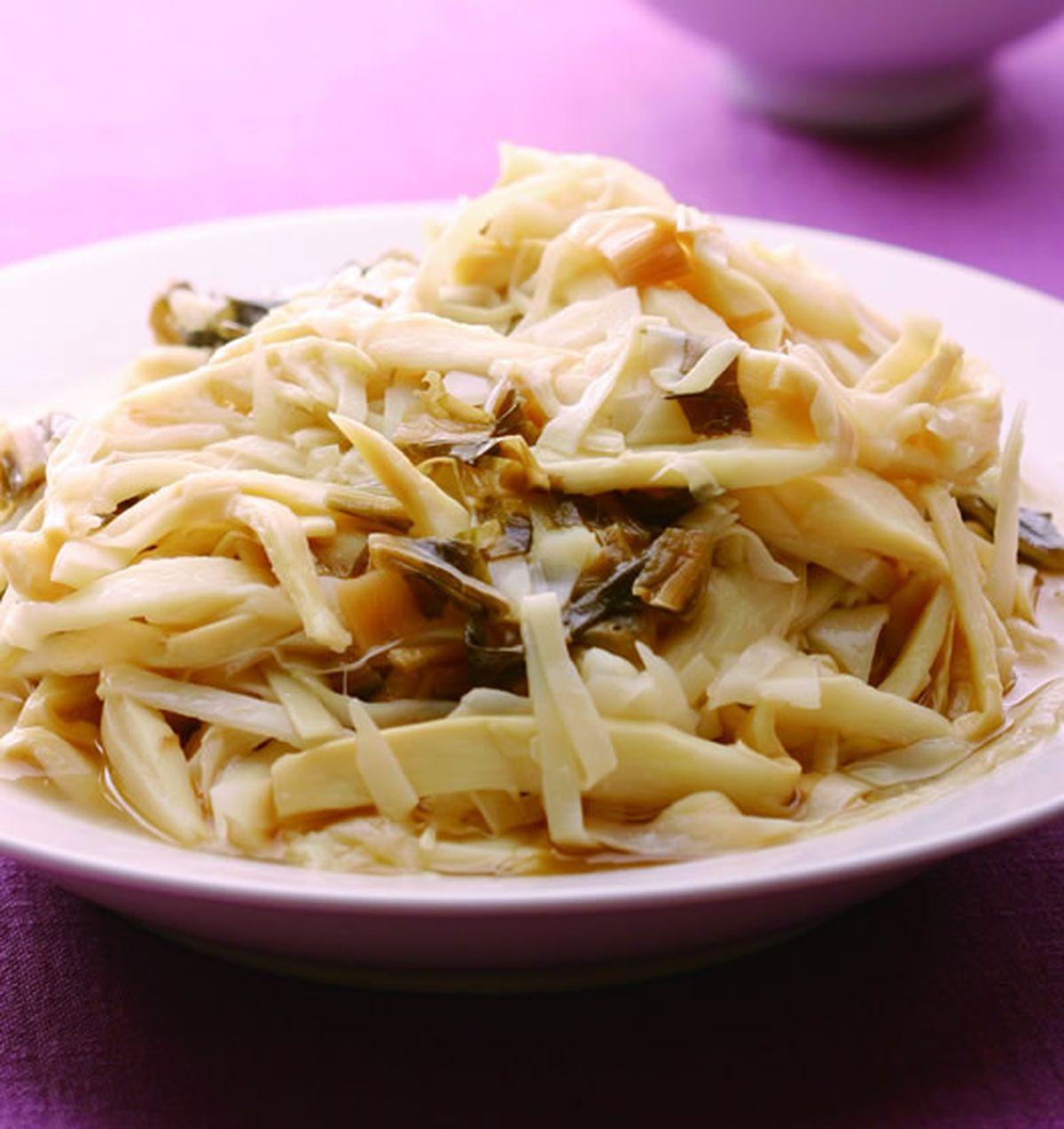 食譜:筍絲滷福菜