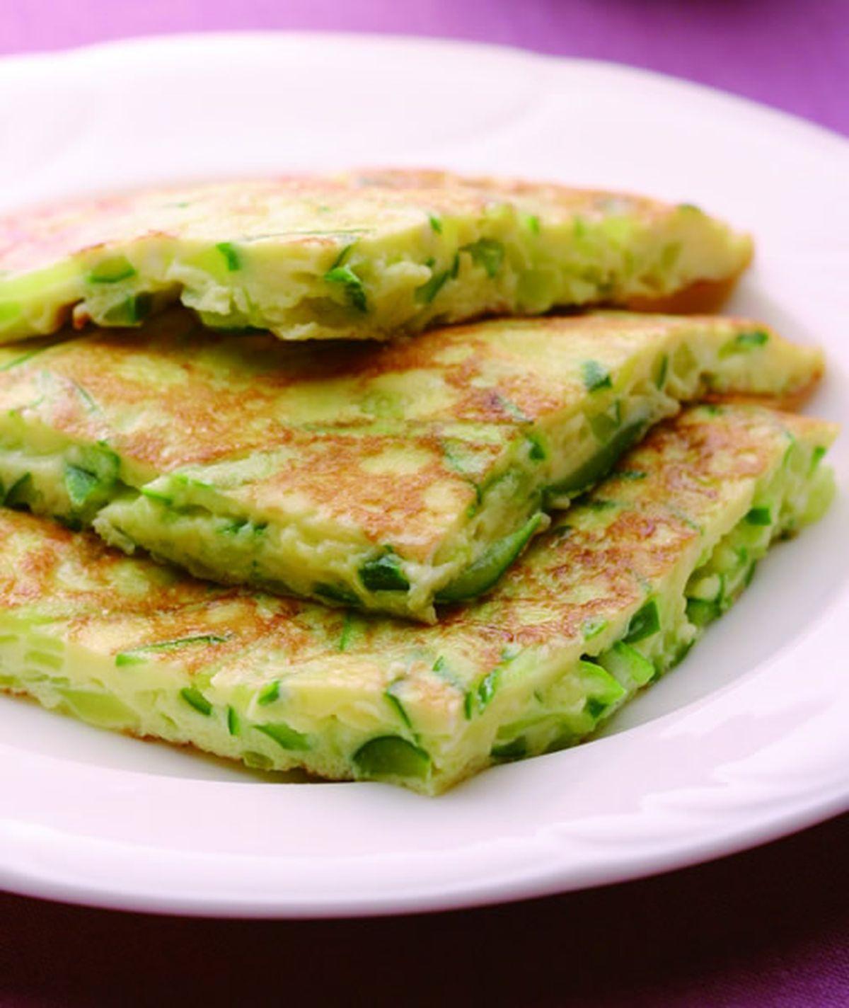 食譜:小黃瓜煎蛋(1)