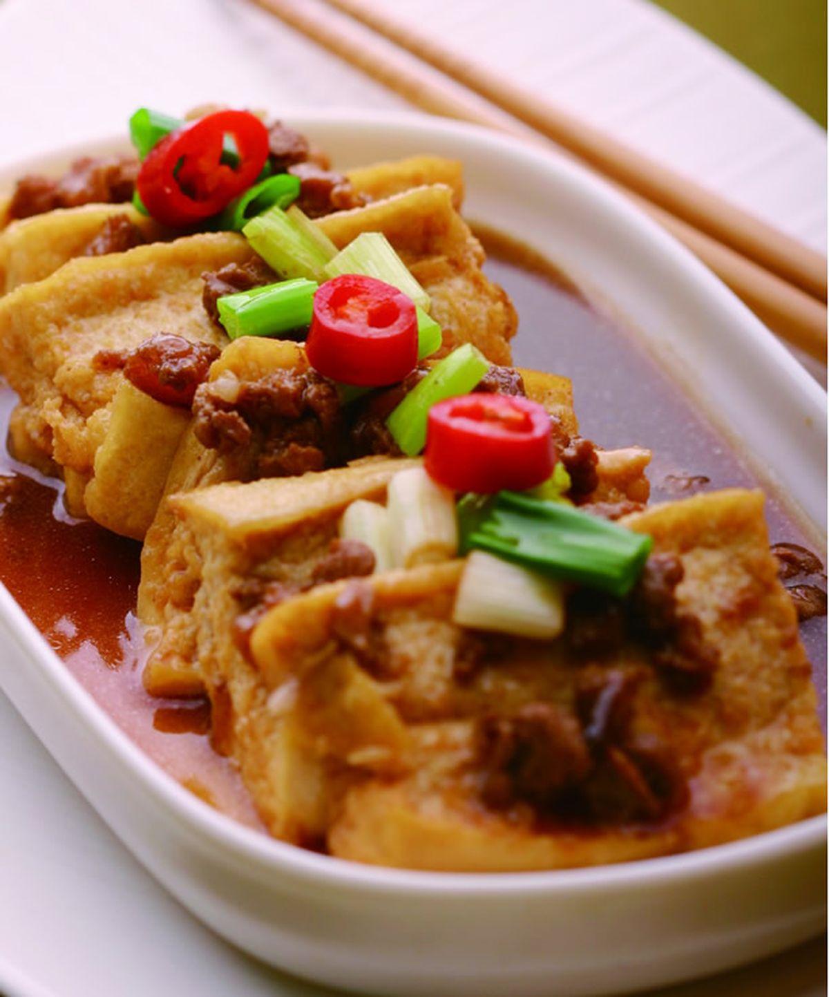 食譜:紅燒豆腐(5)
