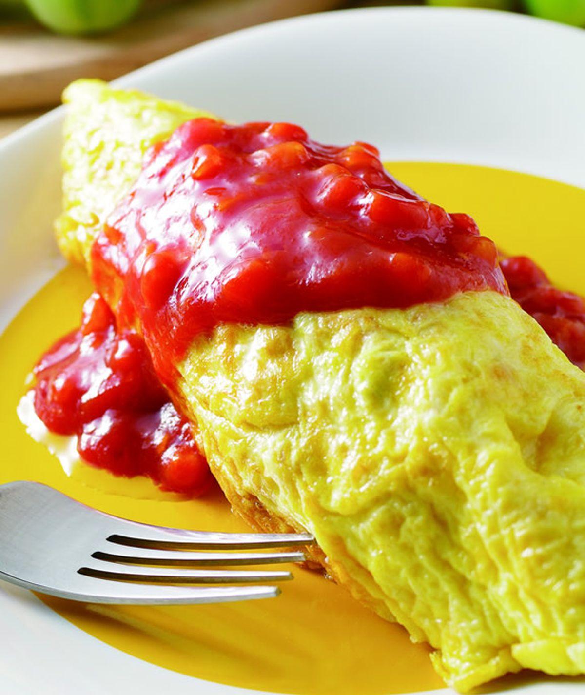 食譜:蛋包飯(5)