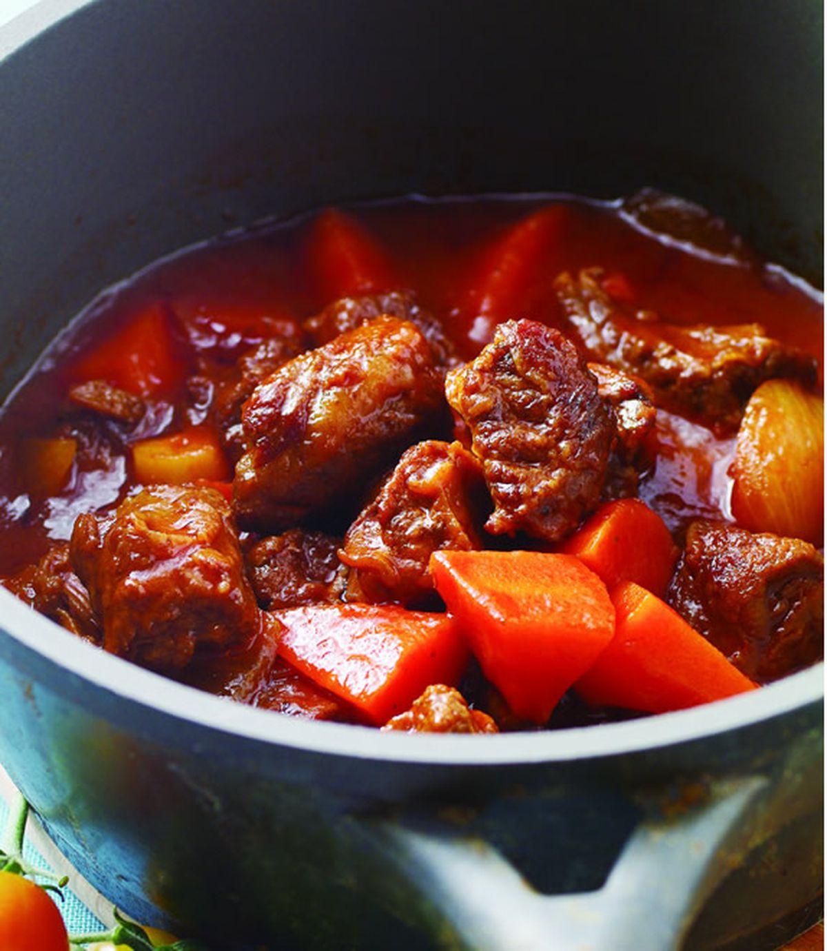 食譜:紅醬滷牛肉