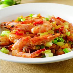 辣味鮮茄炒鮮蝦