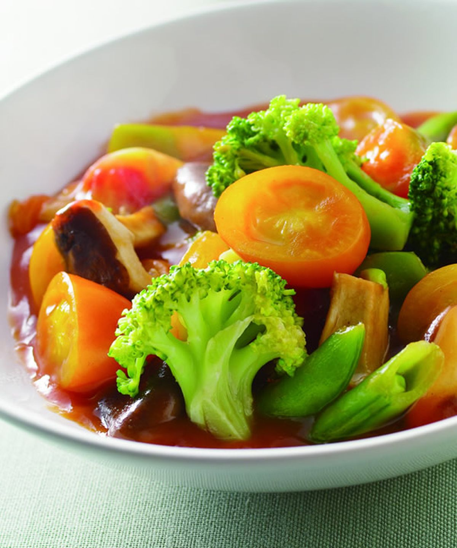 食譜:茄汁燴什錦蔬菜