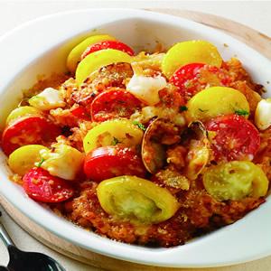 蕃茄海鮮焗飯