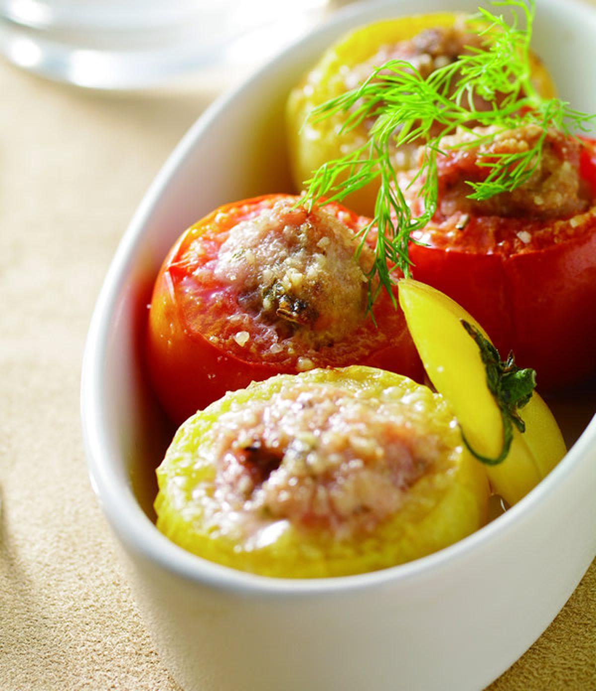 食譜:焗烤蕃茄盅