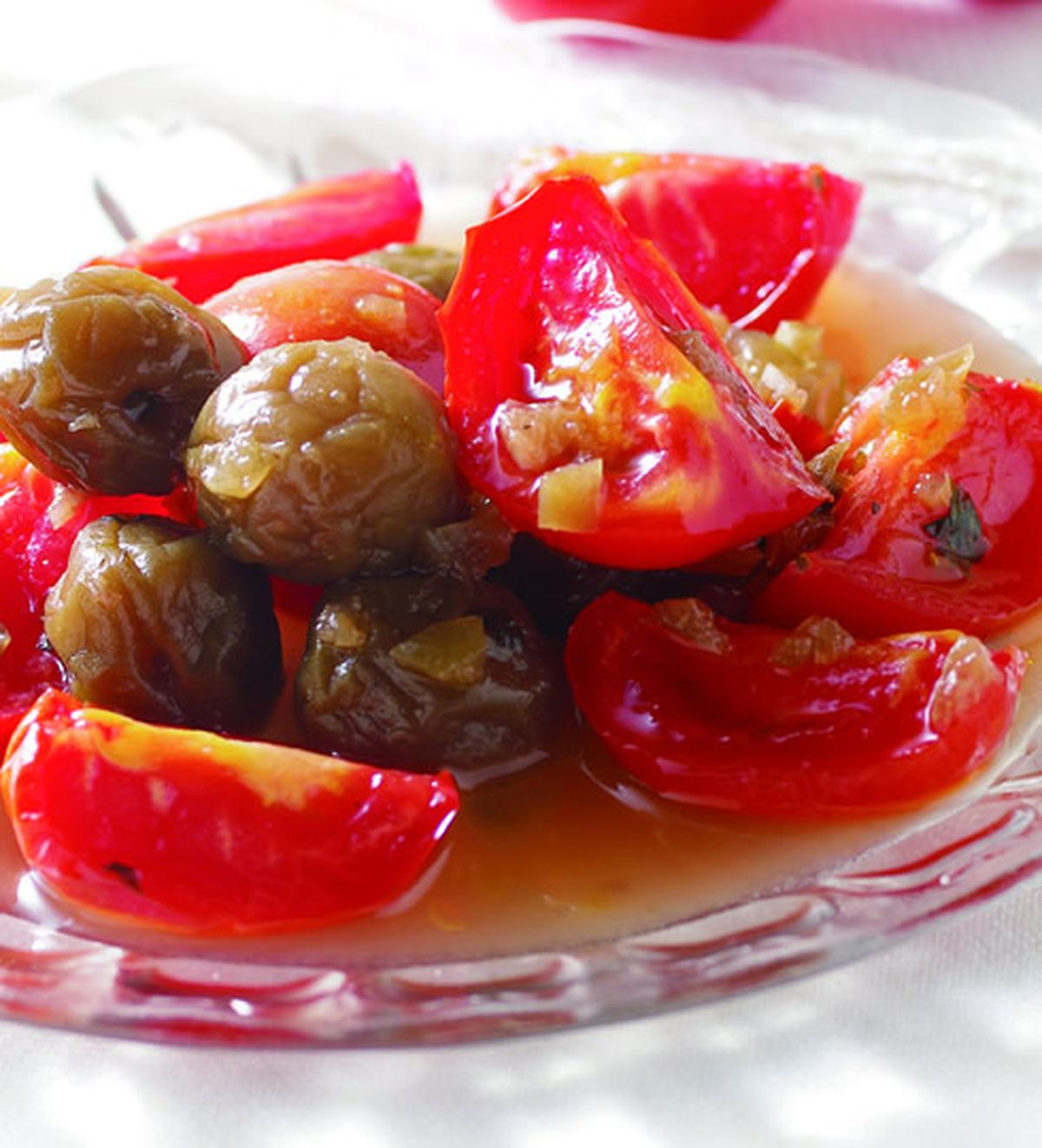 食譜:紫蘇梅漬羅馬蕃茄