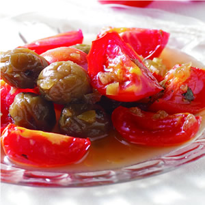 紫蘇梅漬羅馬蕃茄