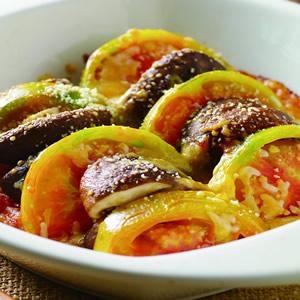 焗烤香菇蕃茄片