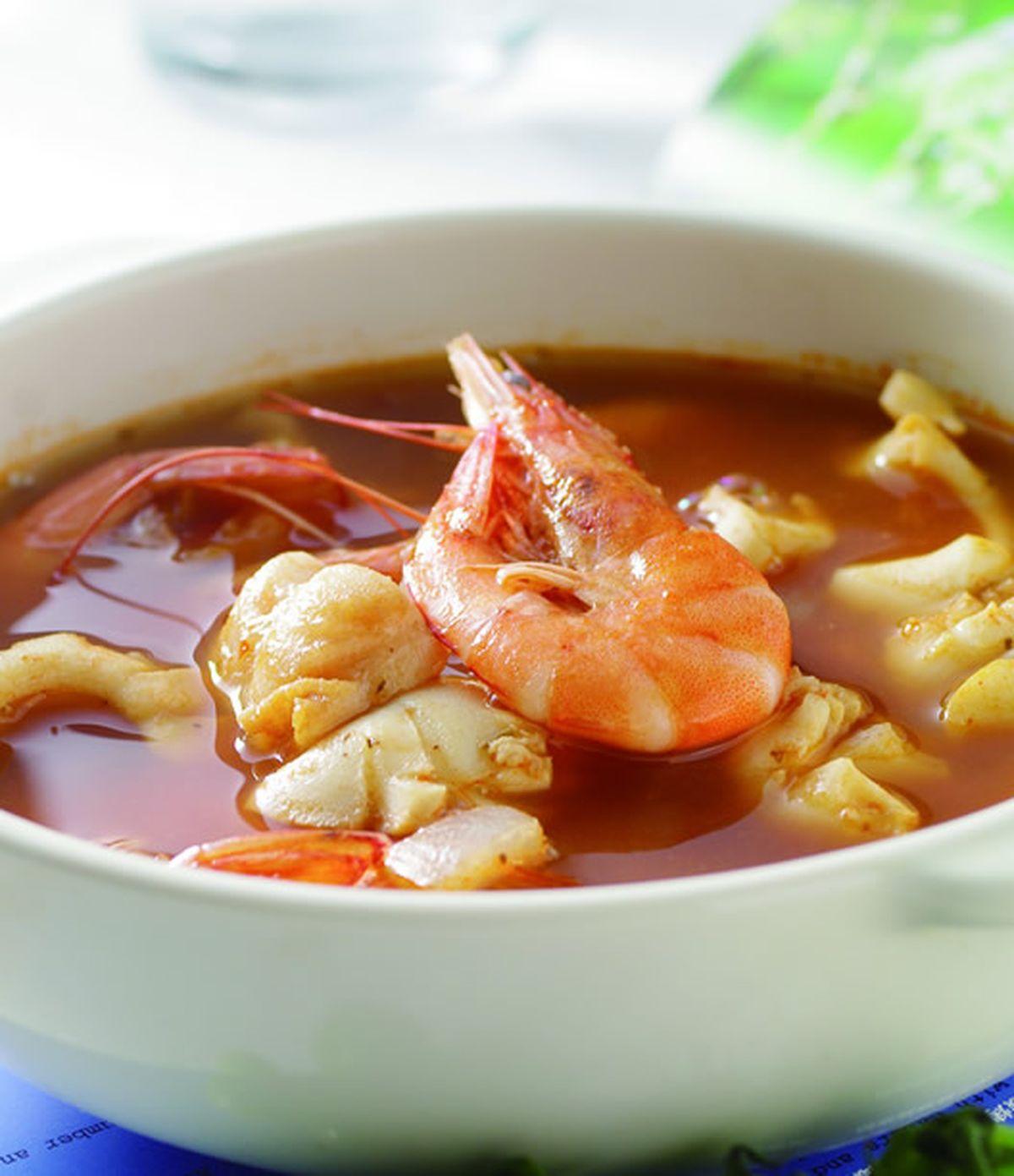 食譜:西西里蕃茄海鮮湯