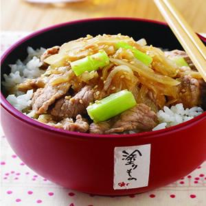 日式洋蔥燒肉蓋飯