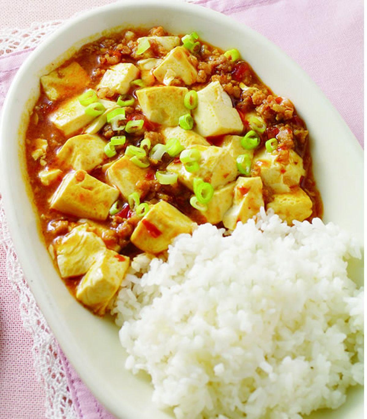 食譜:麻婆豆腐燴飯(1)