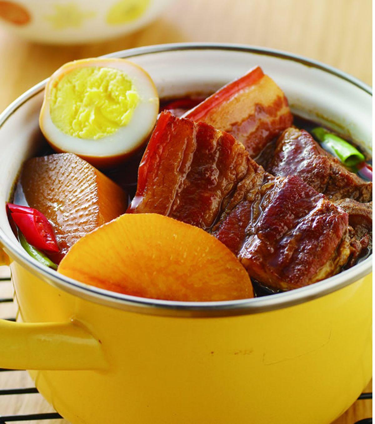 食譜:蘿蔔豆乾滷肉