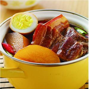 蘿蔔豆乾滷肉