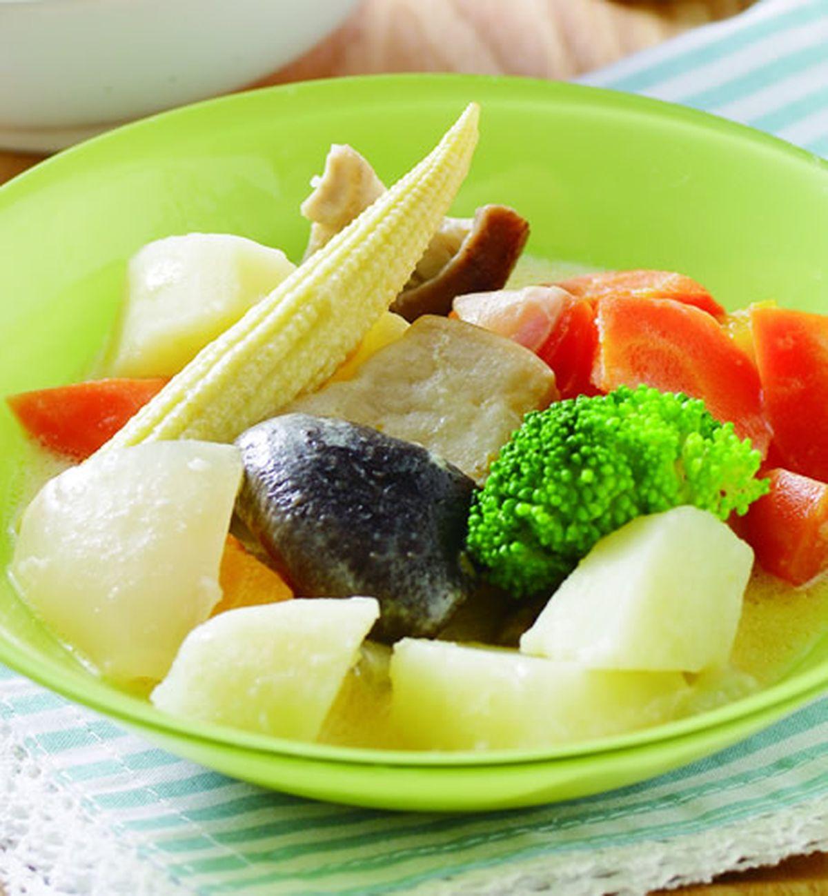 食譜:奶油燉菜
