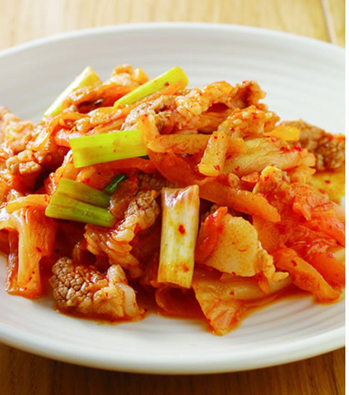 食譜:韓式泡菜飯(1)