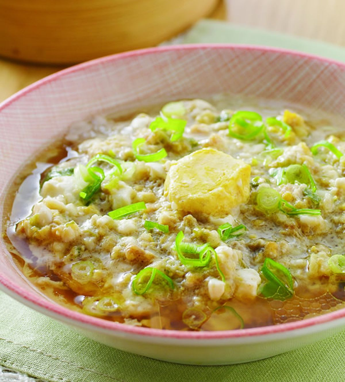 食譜:鹹蛋蒸肉(4)