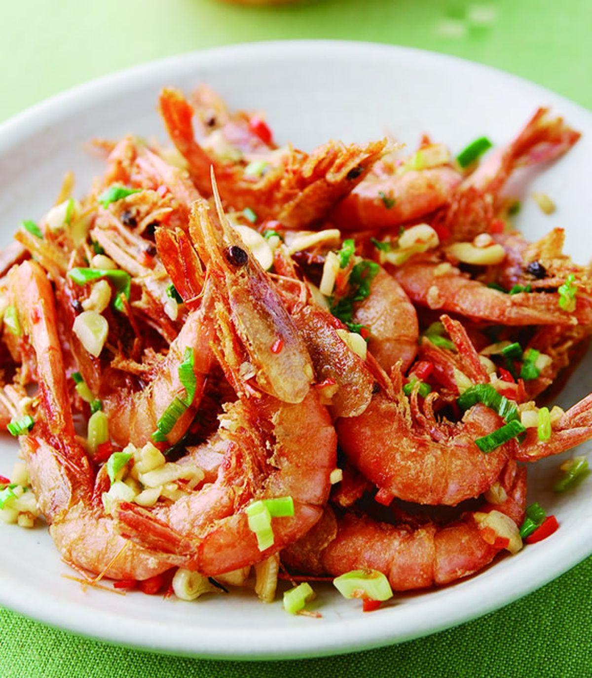 食譜:鹽酥蝦(4)