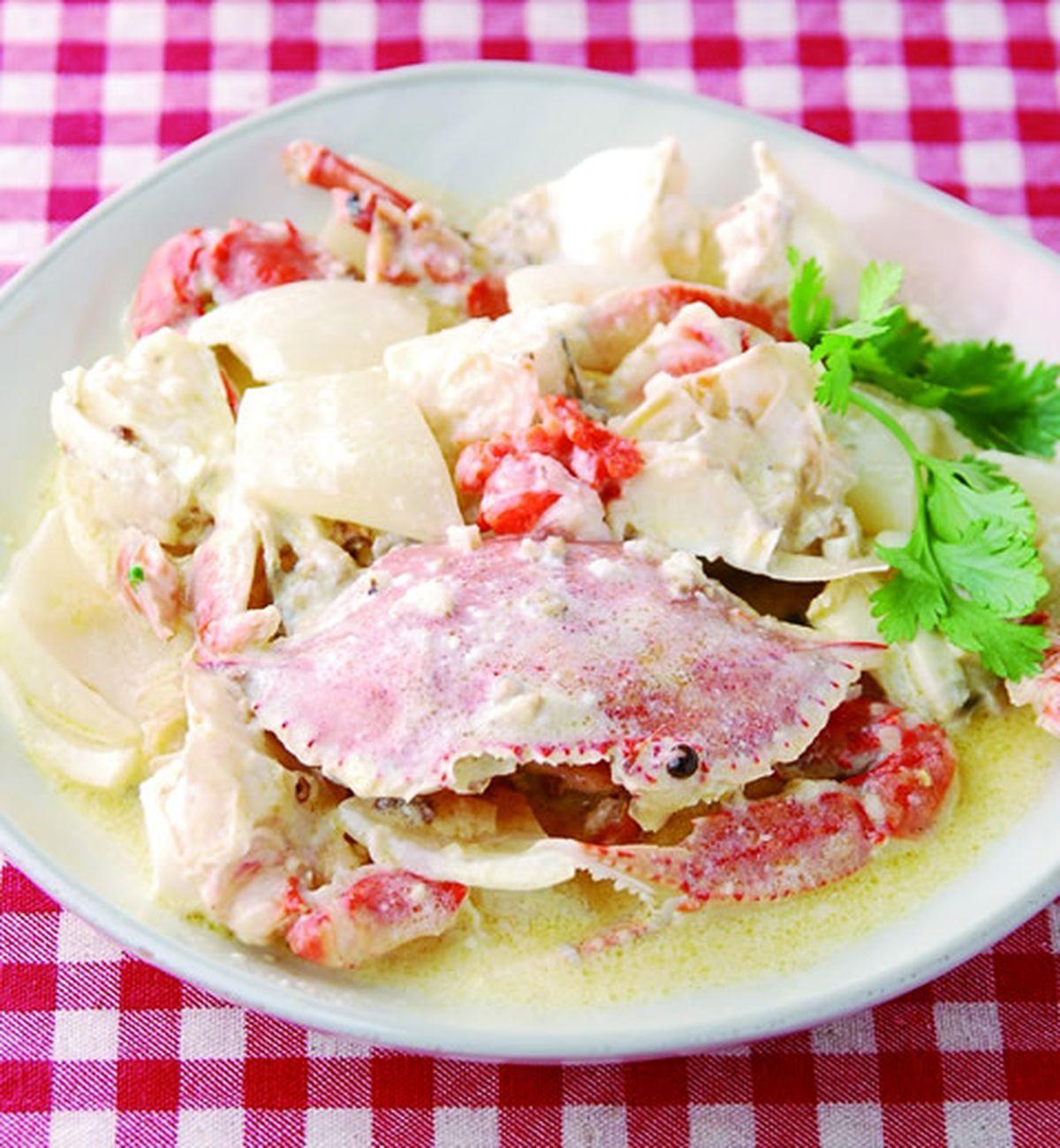 食譜:胡椒奶油蟹