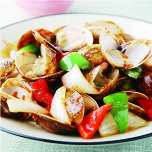 XO醬炒蛤蜊