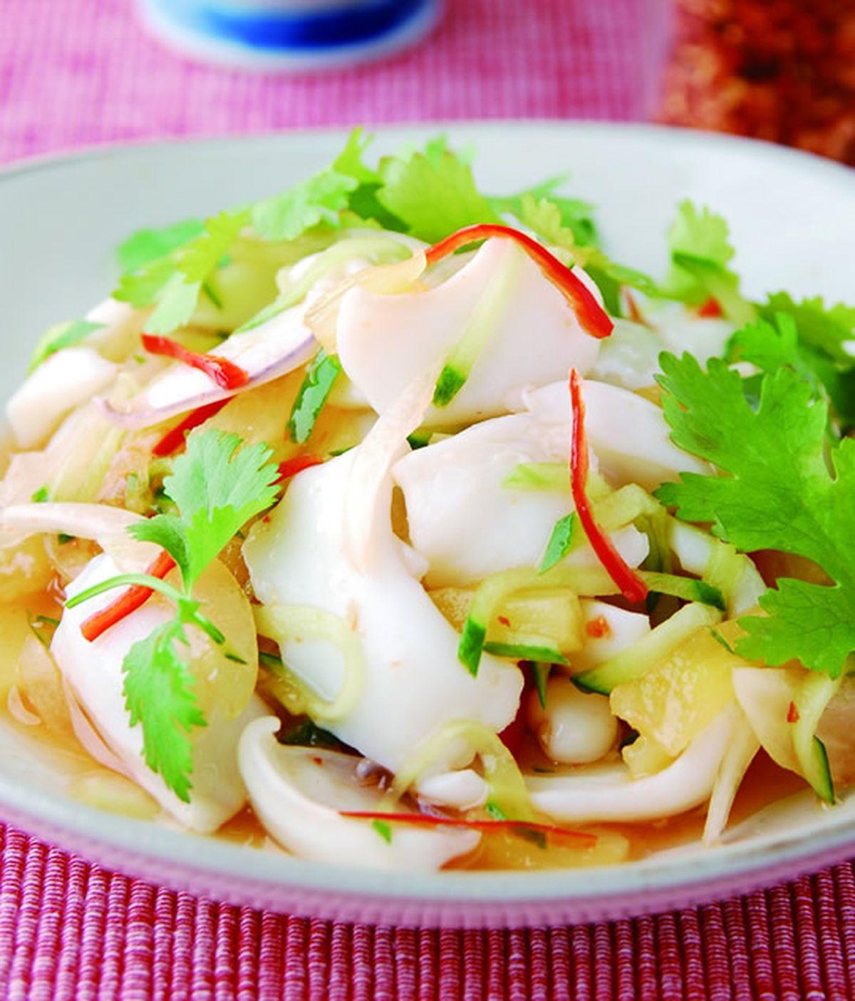食譜:泰式涼拌花枝(3)