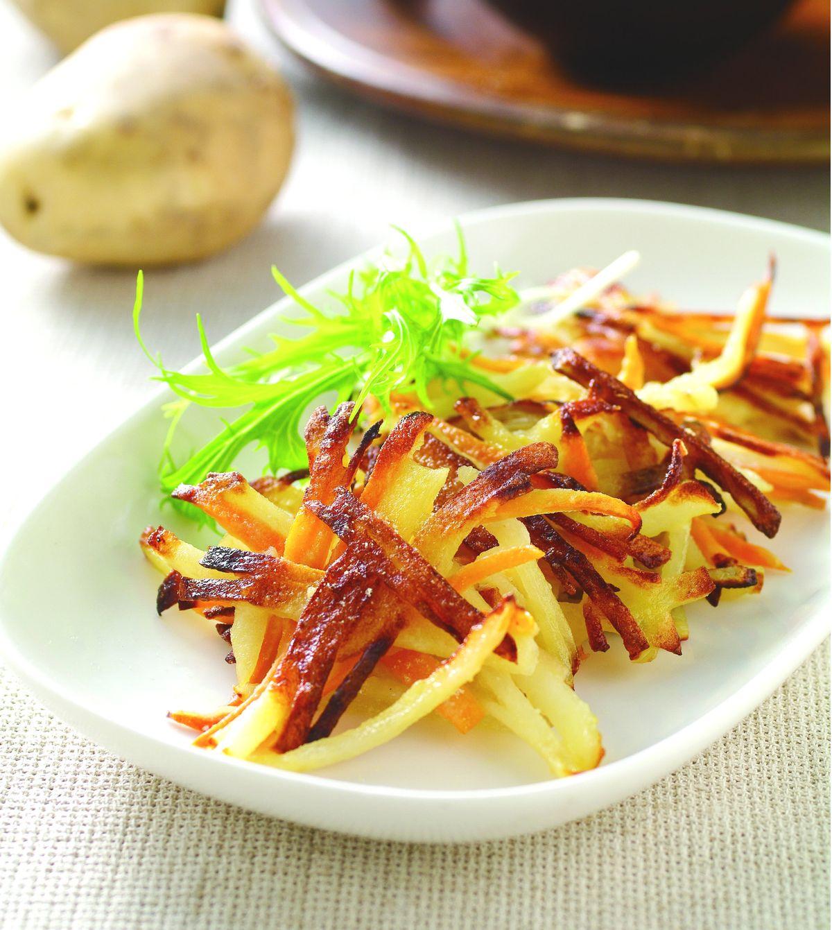 食譜:地瓜薯餅