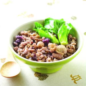 雞肉五穀米菜飯