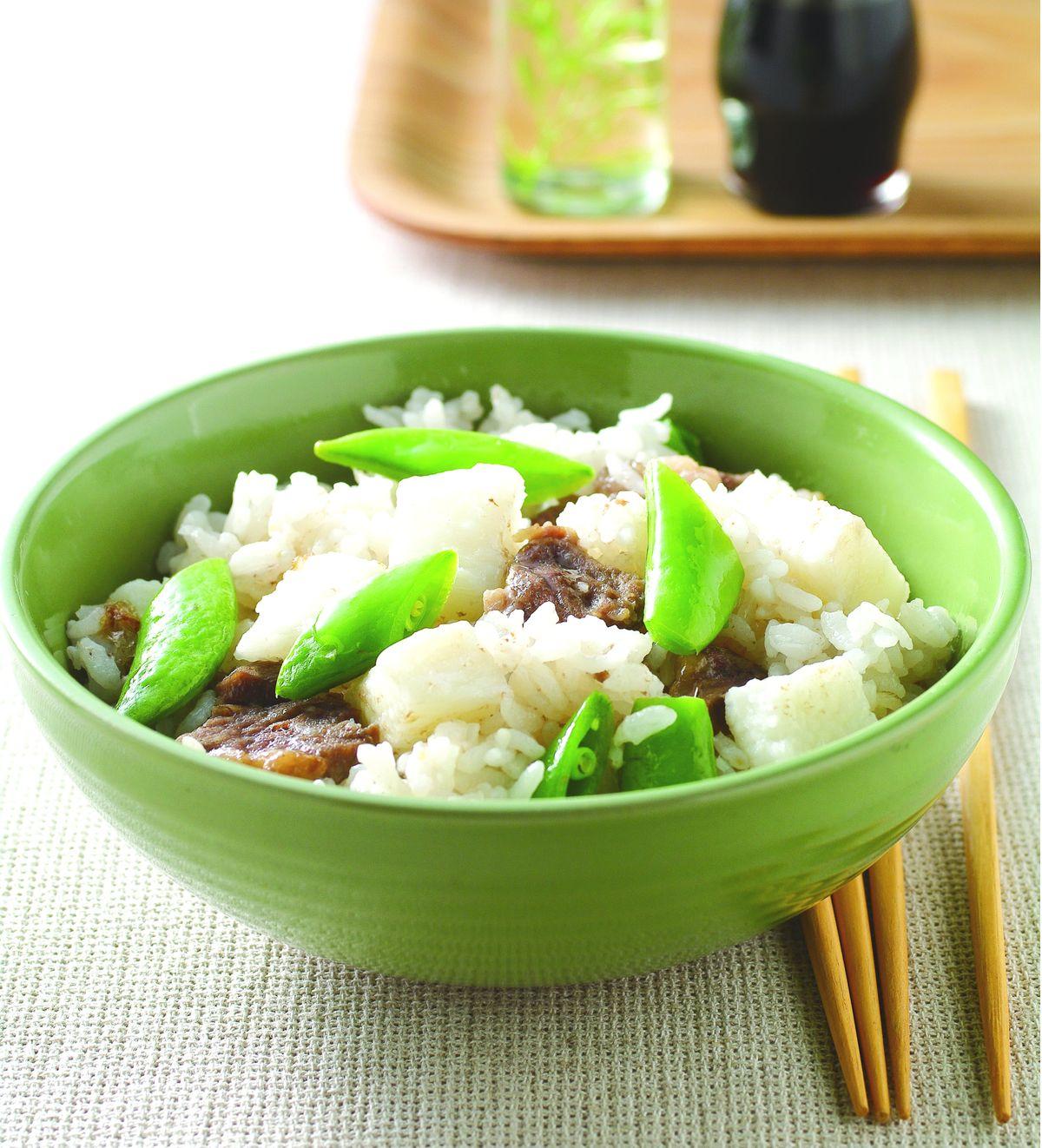 食譜:山藥牛肉菜飯
