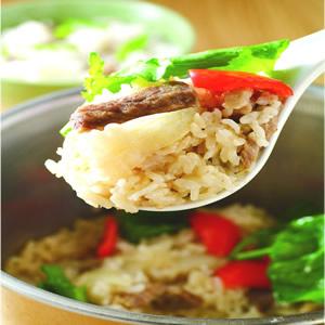 蠔油牛肉菜飯