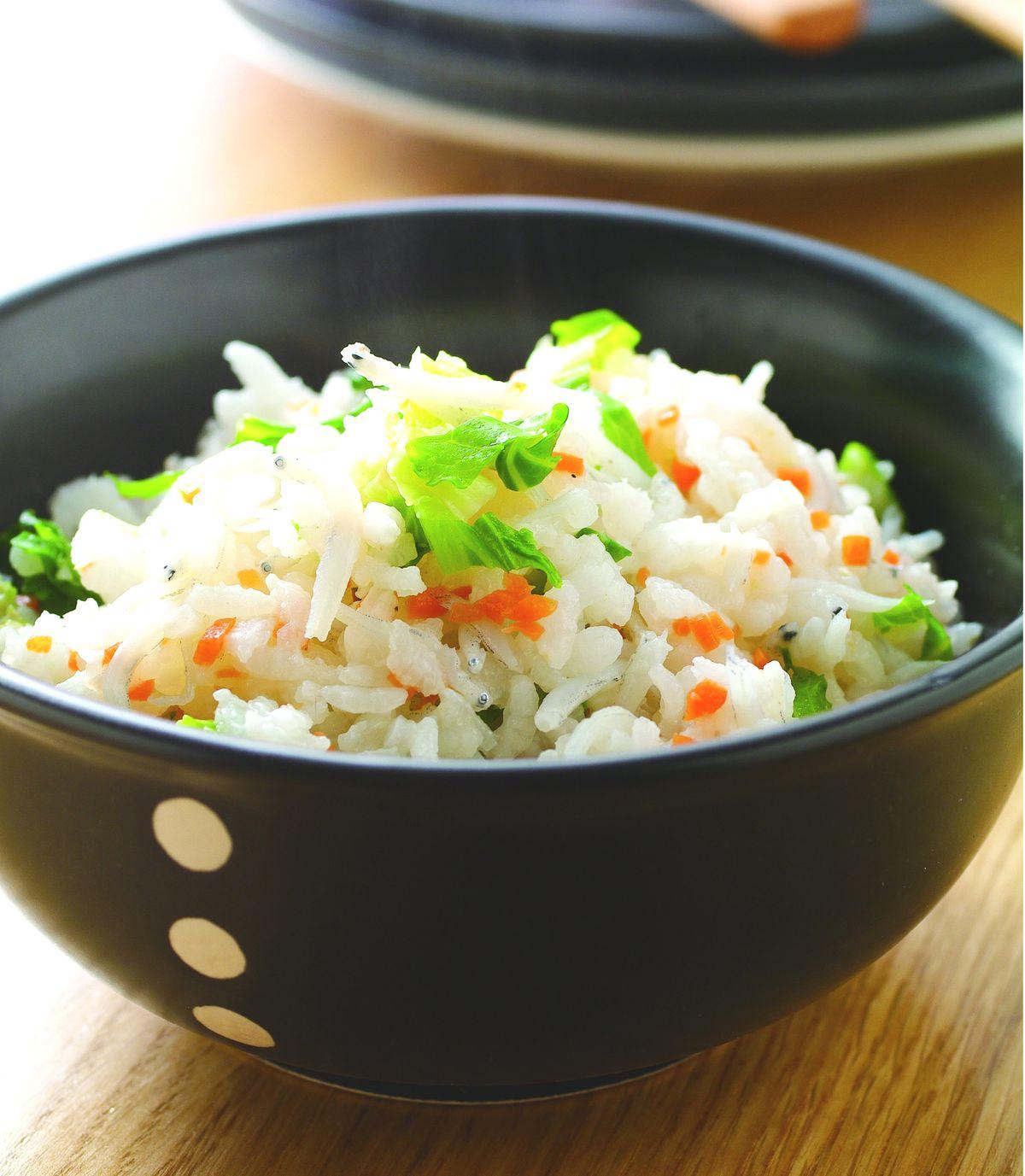 食譜:紅蘿蔔吻魚菜飯
