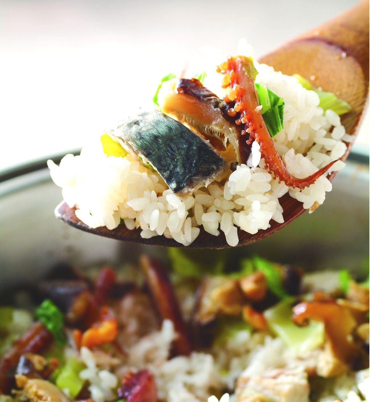 食譜:港式鹹魚菜飯