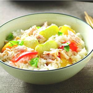 鮪魚蔬菜飯
