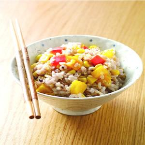 甜椒玉米菜飯