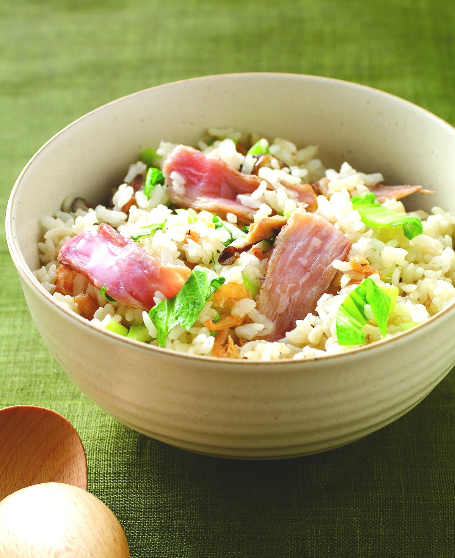 食譜:上海菜飯(2)