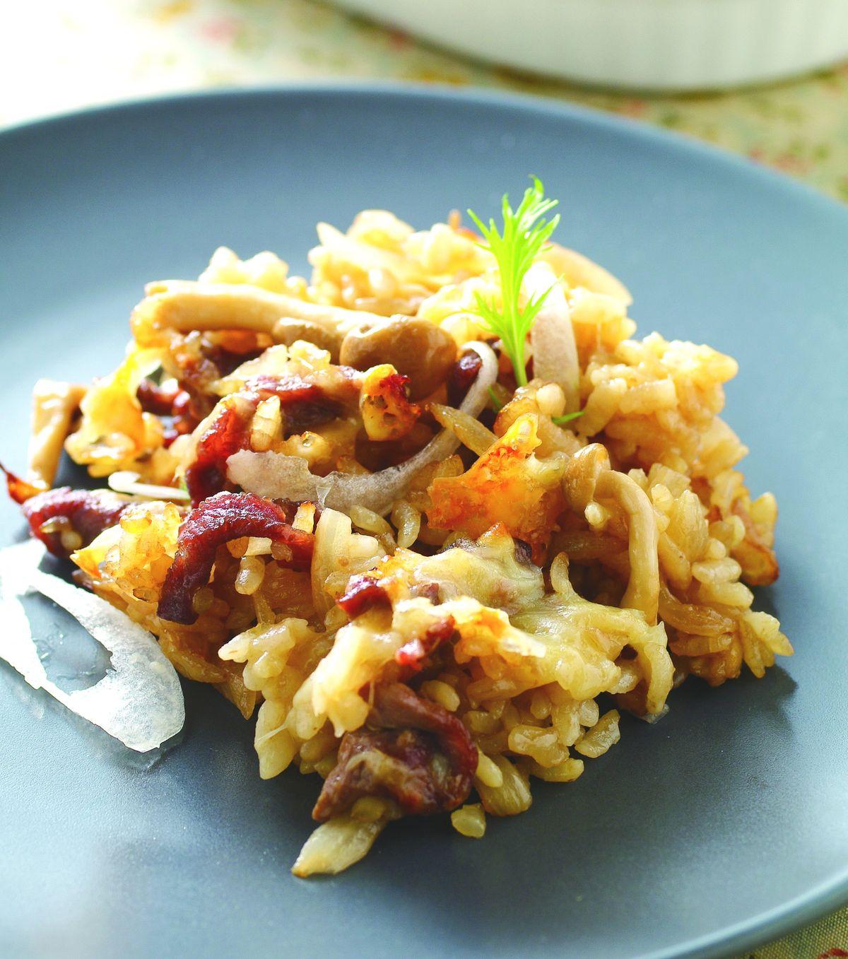 食譜:日式洋蔥牛肉焗飯