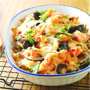 西西里海鮮焗飯
