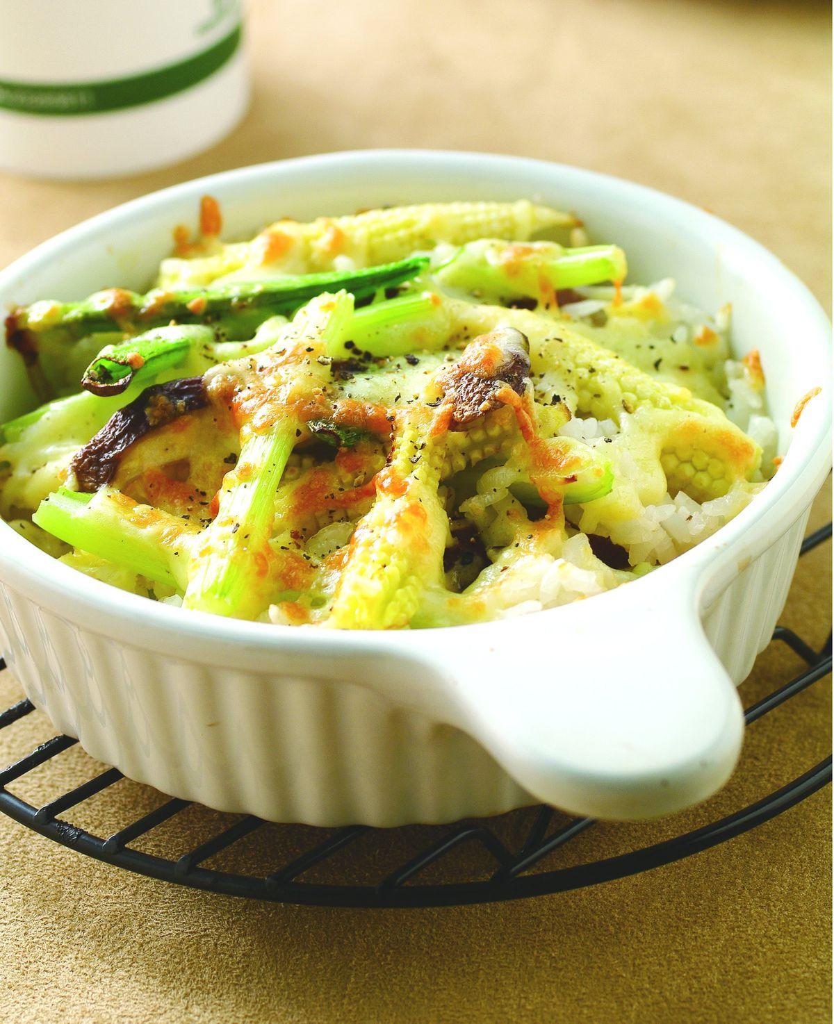 食譜:什錦蔬菜焗飯