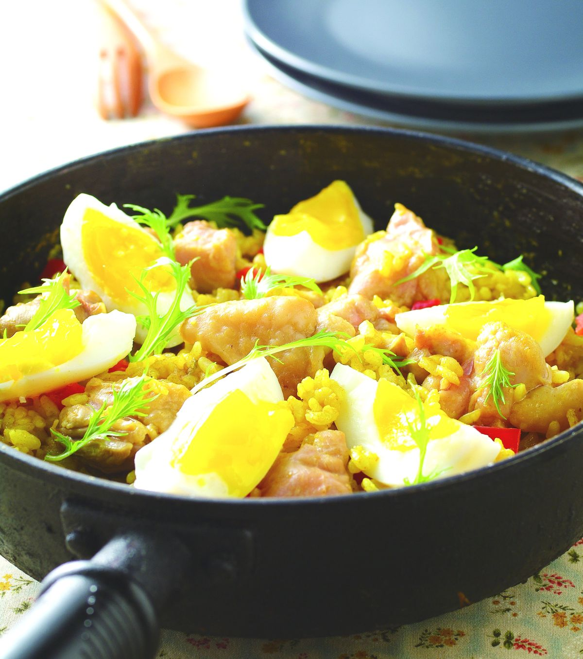 食譜:咖哩親子雞肉燉飯