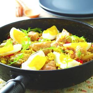 咖哩親子雞肉燉飯