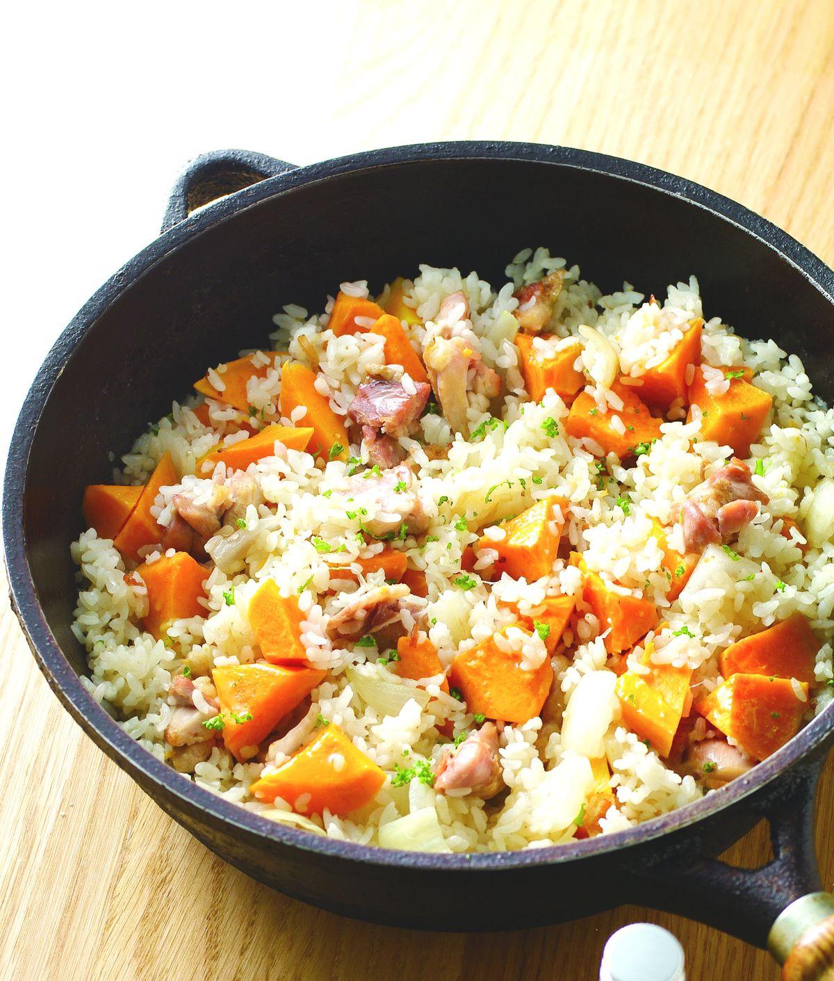 食譜:地瓜雞肉燉飯