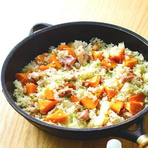 地瓜雞肉燉飯