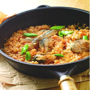 茄汁鯖魚燉飯
