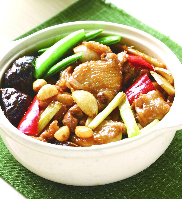 食譜:香菇燉雞煲