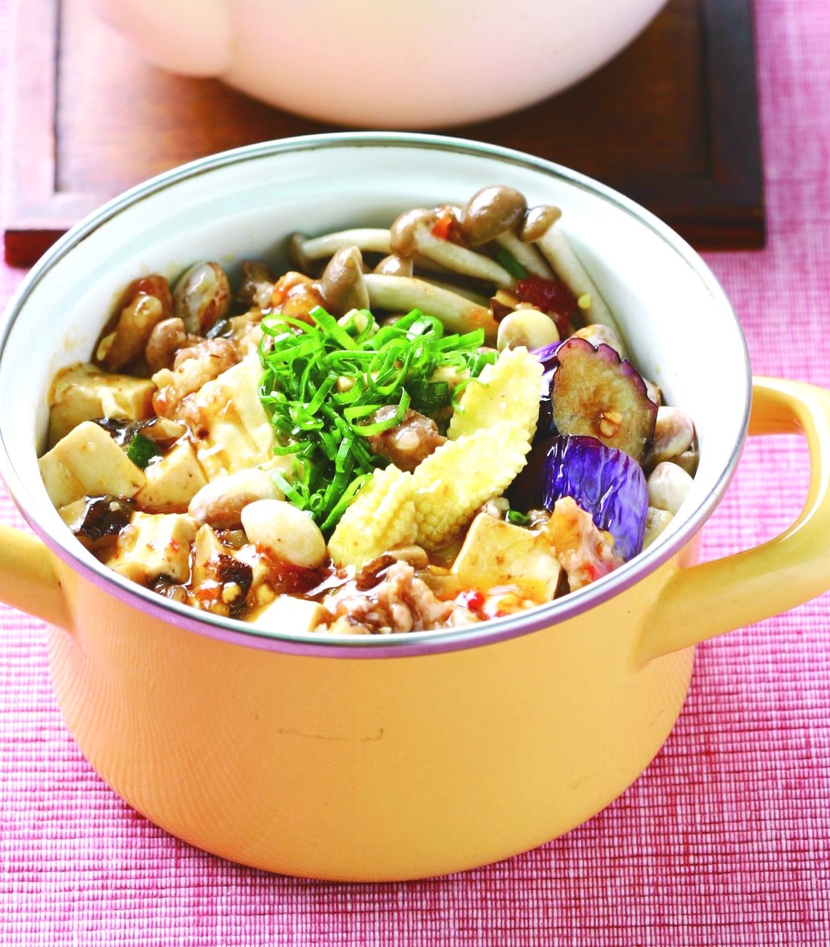 食譜:麻婆豆腐煲
