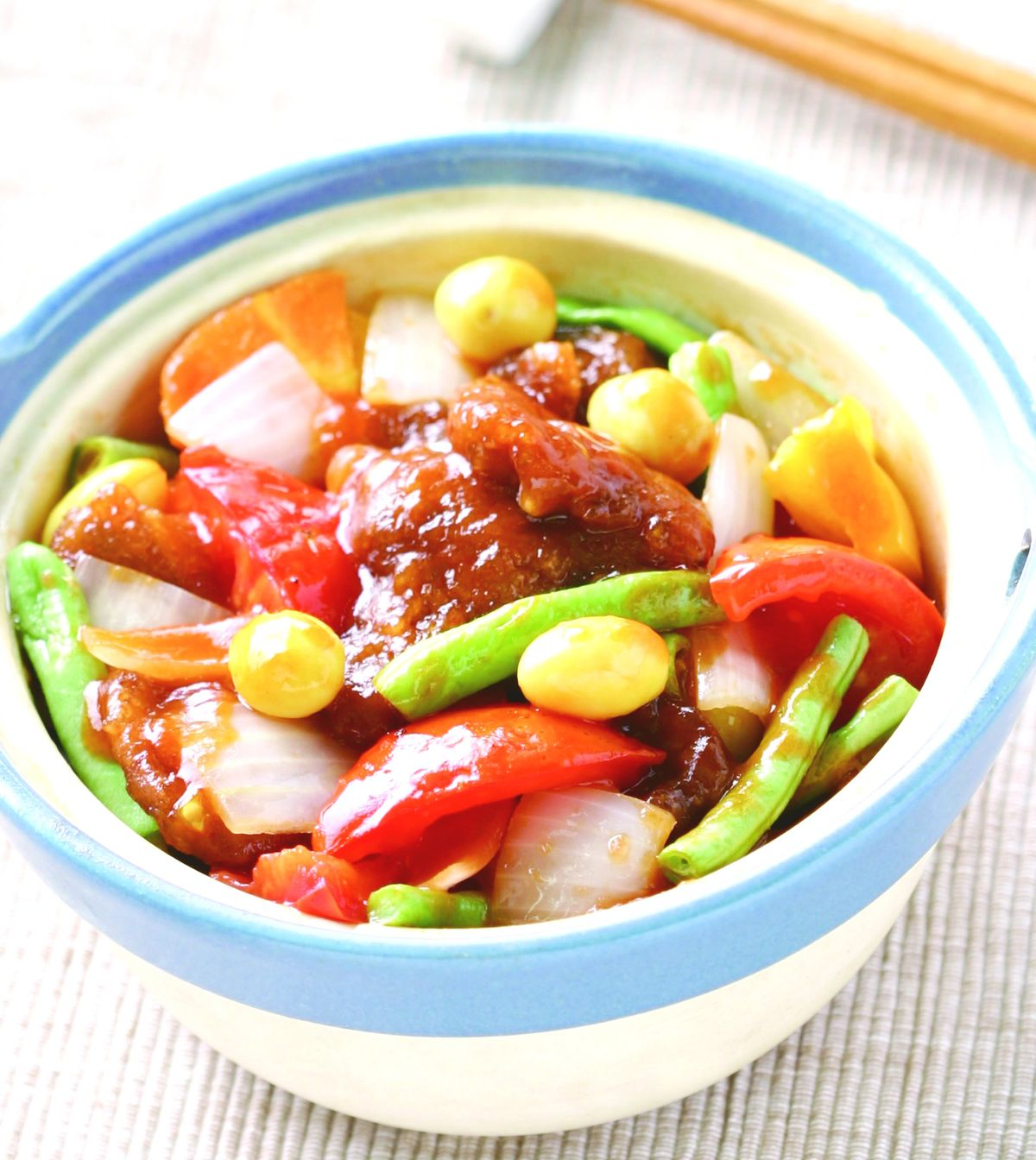 食譜:蕃茄紅肉煲
