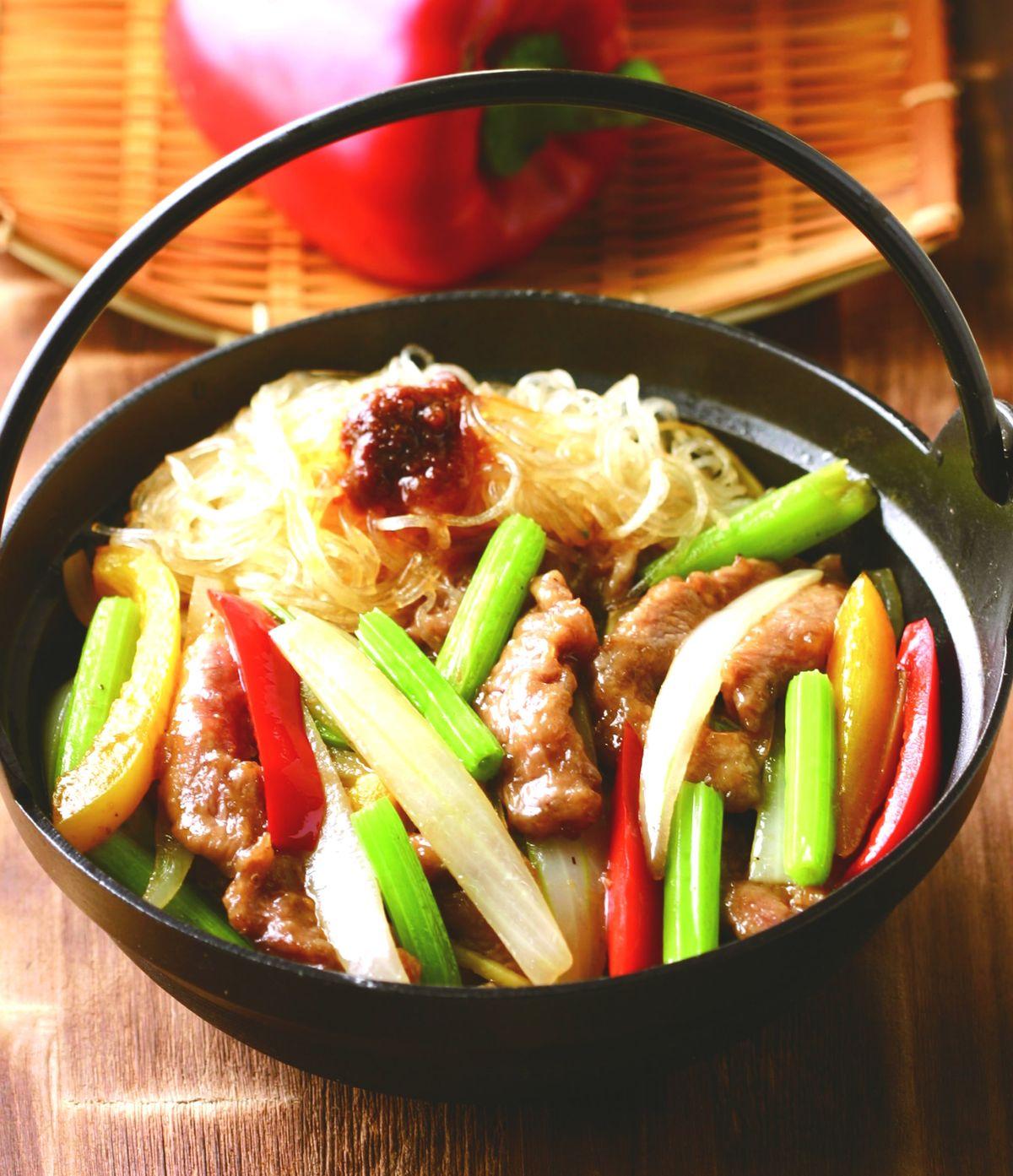 食譜:沙茶豬柳煲