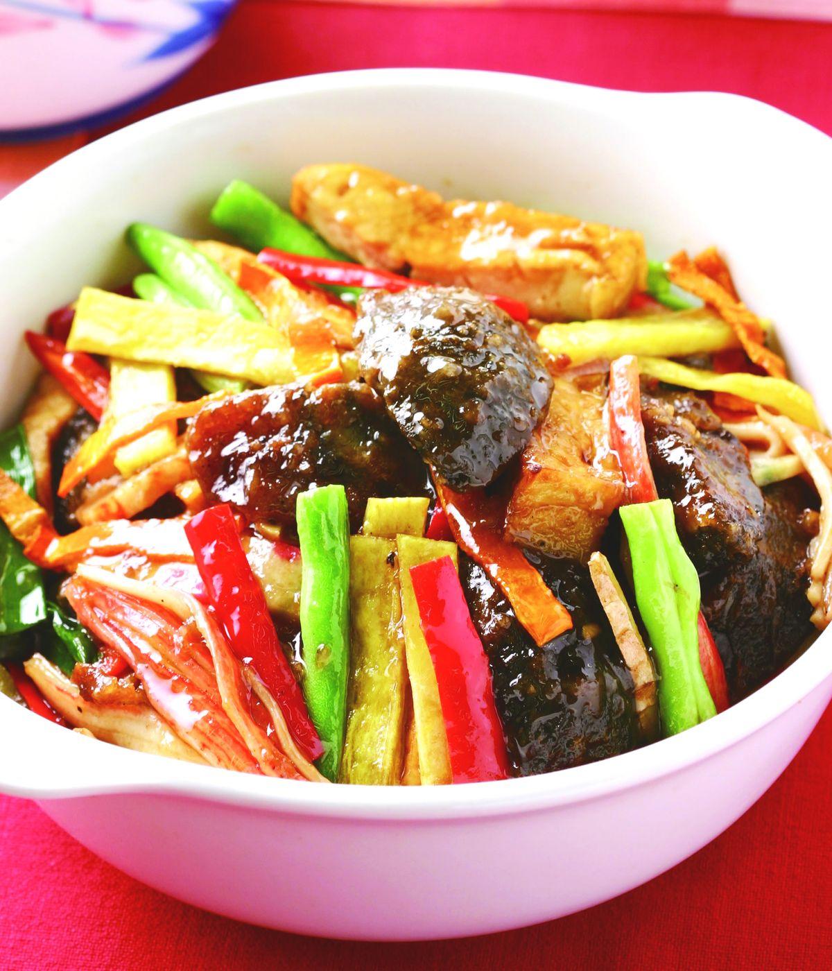 食譜:皮蛋豆腐煲
