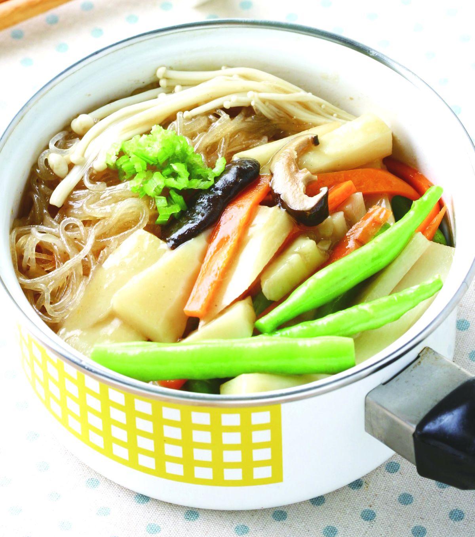 食譜:針菇煲竹筍