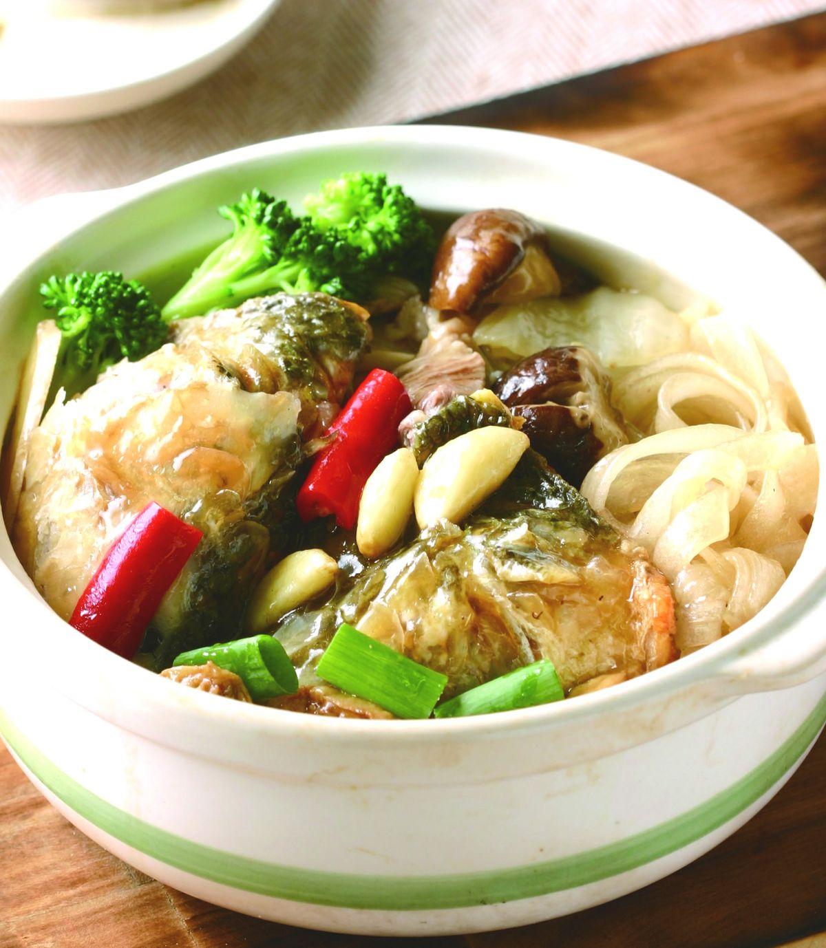 食譜:砂鍋魚頭(7)